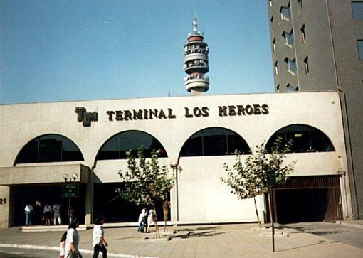 terminal de buses los héroes